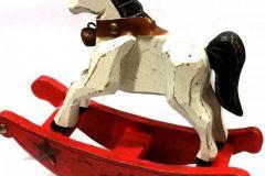χριστουγεννιατικο διακοσμητικο αλογακι