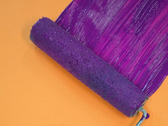 Βάψιμο τοίχου - διχρωμία